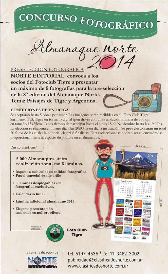 mailing almanaque concursantes almanaque 2014