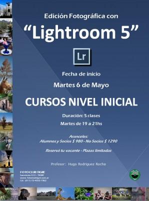 Flyer Curso Lightroom Inicial - FCT - Inicio 6 Mayol 2014
