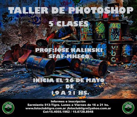 TALLER DE PHOTOSHOP – MAYO