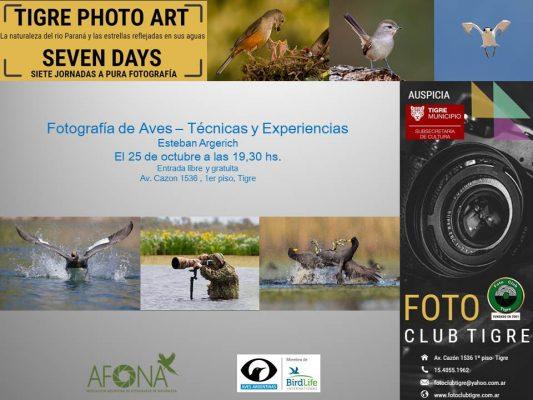 TIGRE PHOTO ART SEVEN DAYS - Estaban Argerich - 2018
