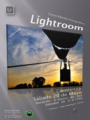Flyer Curso Lightroom 2017 Inicial