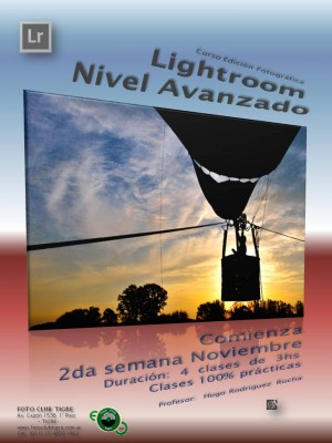 Flyer Curso Lightroom Avanzado - FCT - 2do semestre 2016 - Sin  Precio