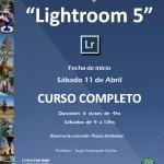 Flyer Curso Lightroom Completo - FCT - Inicio 11 Abril 2015