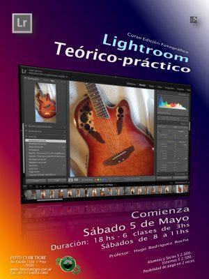 Curso de Lightroom COMPLETO- (6 clases de 3hs cada una)