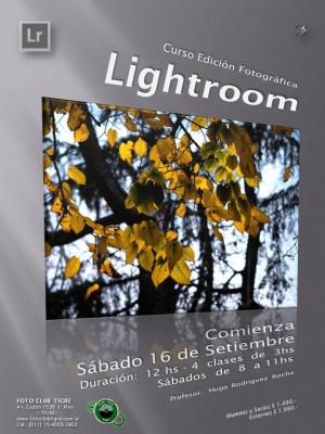 CURSO INICIAL LIGHTROOM - SEPTIEMBRE 2017