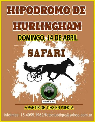 SAFARI HIPÓDROMO DE HURLINGHAM- ABRIL 2019