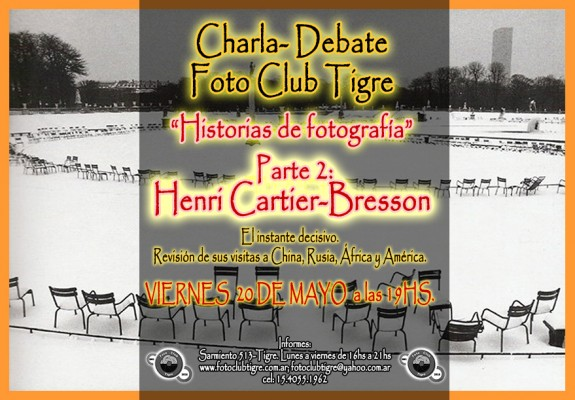 Henri Cartier-Bresson FLYER