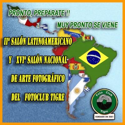 PROXIMO IIº SALON LATINOAMERICANO Y XVIº SALON NACIONAL DEL FCT