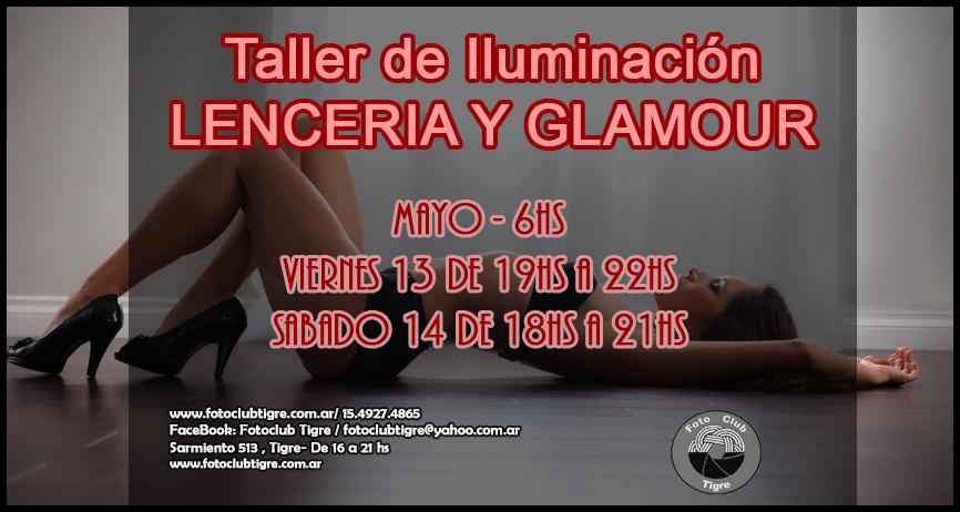TALLER DE ILUMINACIÓN- LENCERIA Y GLAMOUR