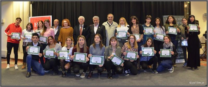 Entrega de diplomas Egresados 2019- Escuela de fotografía.