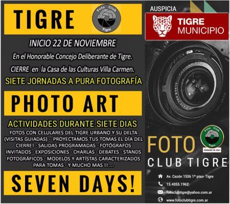 TIGRE PHOTO ART SEVEN DAYS 2019