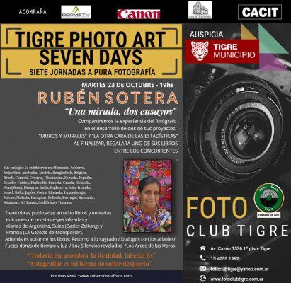 TIGRE PHOTO ART SEVEN DAYS - Rubén Sotera - 2018