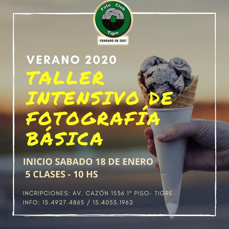 TALLER DE VERANO- ENERO 2020