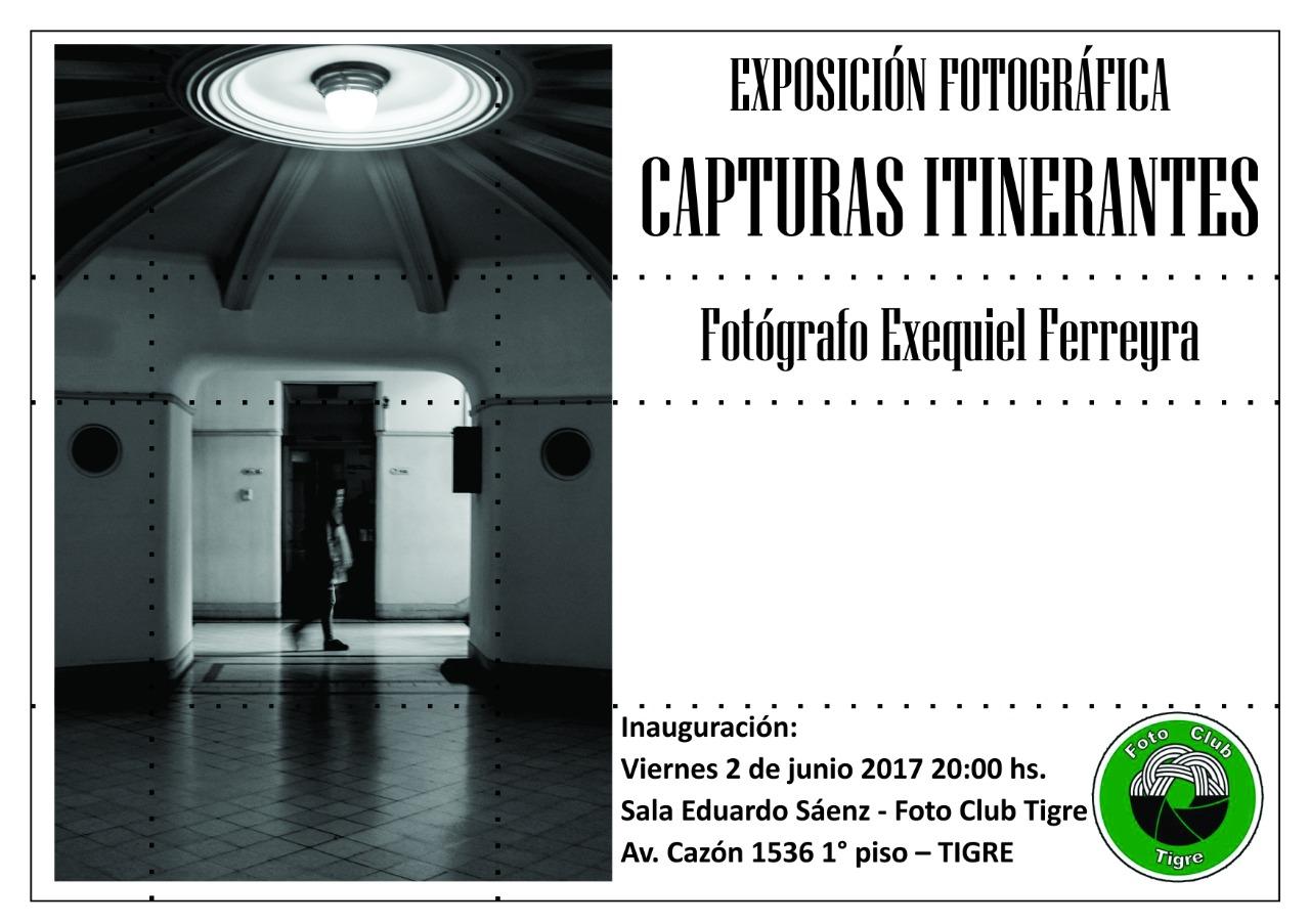 Muestra Fotográfica del Artista EXEQUIEL FERREYRA