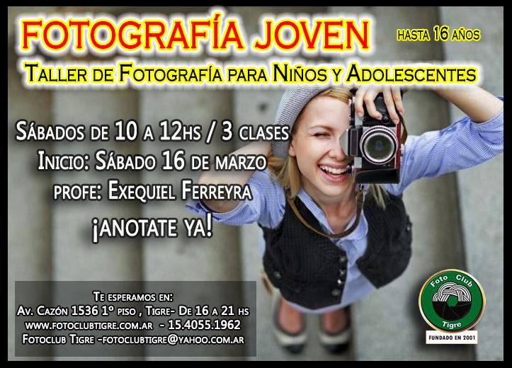 Fotografía para niños y adolescentes- INICIO MARZO